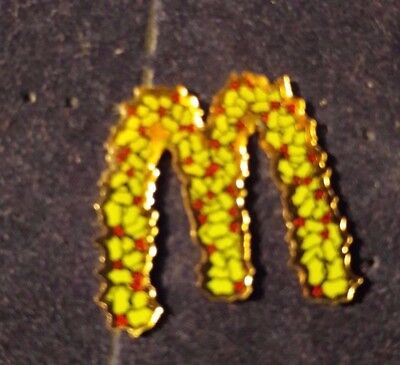 Original Mcdonald Mcdonald MCDPIN Badge - Mc Donald / Weihnachten Stechpalme