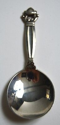 GEORG JENSEN acorn  sterling silver spoon