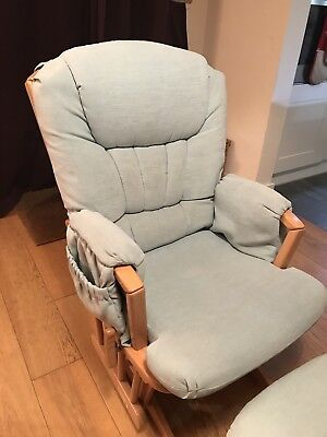 Dutailier Glider Chair with matching Footstool