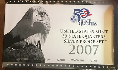 2007 Silver Quarter Proof Set from U.S. Mint