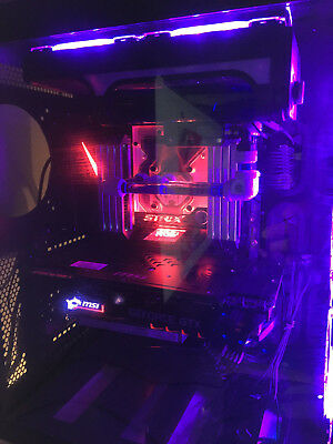 asus strix gaming e x299 motherboard with mono block included