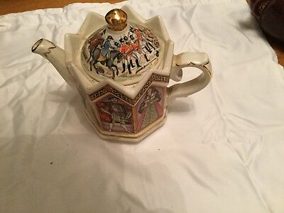 Sadler teapot King Henry VIII and his six wives