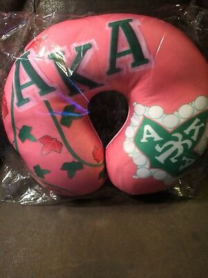 AKA Sorority Pillow (Alpha Kappa Alpha)
