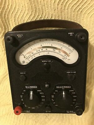 AVO Model 8 Mk IV in Working Order and Fair to Good Condition