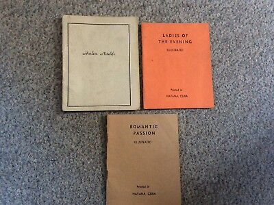 Tijuana Bibles 3 Each 32 Pages Very Nice 1930s