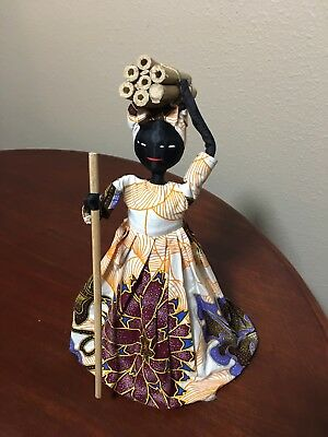 Primative Hand Made African Doll
