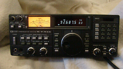 ICOM IC-R7000 VHF/UHF Receiver- in -Excellent Condition