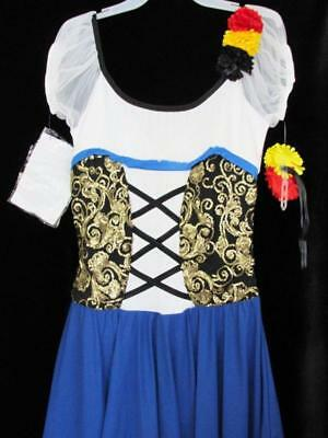 Melody Maiden Peasant Curtain Call Costume CLG