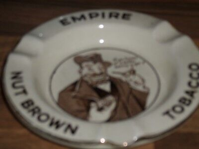 A Superb ''empire Nut Brown Tobacco '' Ashtray From 1936