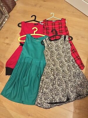 Ladies Dresses Size 10 / 12 Bundle - party, smart or casual. Christmas Birthday