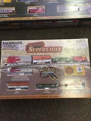Bachman Santa Fe Super Chief Set N Scale