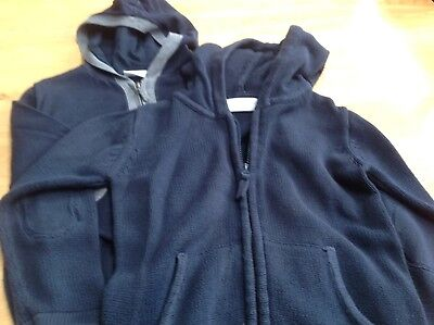 Two Boys Little White Company Boys Zip Up Hoodies Age 4-5