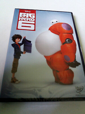 "Dvd ""Big Hero 6"" Precintado Sealed Walt Disney"