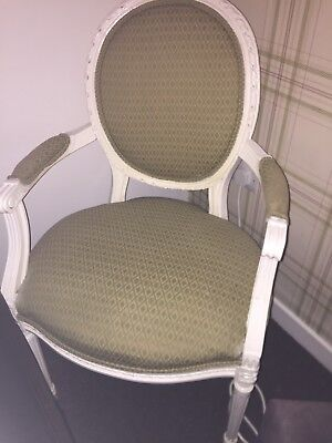 french vintage antique louis style bedroom chair