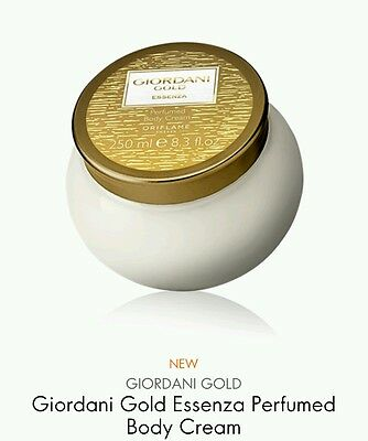 Oriflame Giordani Gold Essenza Perfumed Body Cream, 250ml New