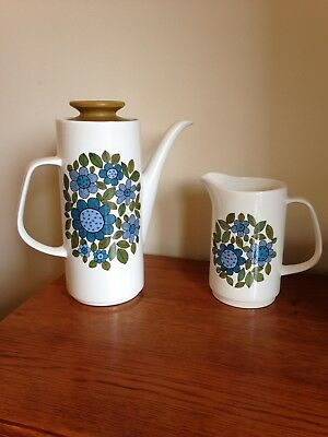J&G Meakin Tureen Dishes Coffee Pot And Milk Jug