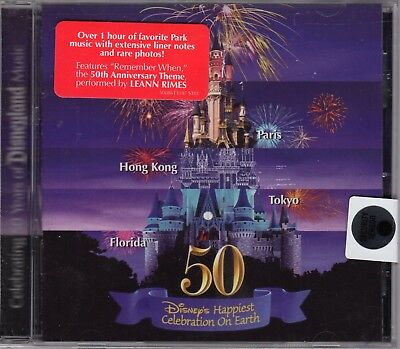 Walt Disney's Happiest Celebration on Earth by Disney Park Music CD BRAND NEW