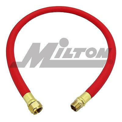 "Milton 2760-6LH 3/8"" x 6' Leader Hose for Auto retract hose reels. Free S&H"