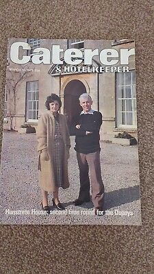 catererer & hotelkeeper magazine from the 1970s💟