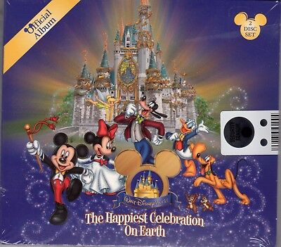 Walt Disney's Happiest Celebration on Earth 2-CD Boxed Set BRAND NEW
