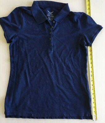 Red Polo Shirt School Uniform - Faded Glory - Girls Size 10-12 L