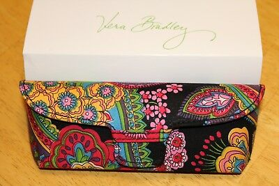 Vera Bradley Hard Eye Glass Case in Symphony in Hue New with Tag