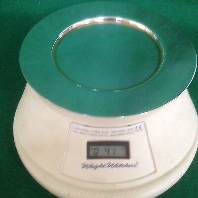 Vintage Sterling Silver Plate 5.5 inches Dia  x 115 grams (4.1 ounces)