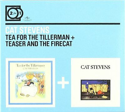 Cat Stevens Tea For The Tillerman & Teaser And The Firecat 2 Cd New