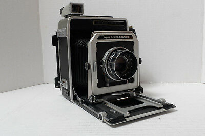 Graflex Super Speed Graphic 4X5 Field Camera - Rodenstock Optar 135Mm F/4.5 Lens