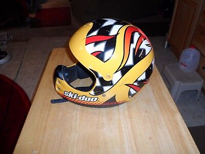 Ski doo helmet large snowmobiling collectible accessories motorcycle lazer