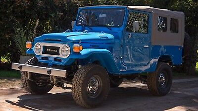 1978 Toyota Land Cruiser FJ43 True full frame off restoration, 5 speed H55F, front disc brakes, A/C + more!