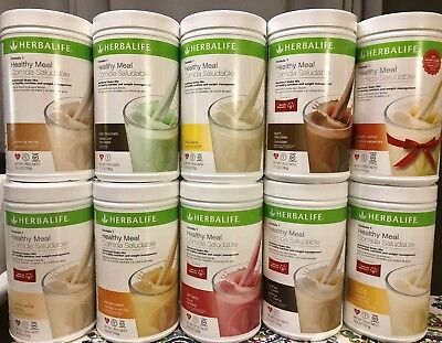 NEW 1X HERBALIFE FORMULA 1 HEALTHY MEAL SHAKE MIX 750g (ALL FLAVORS AVAILABLE)