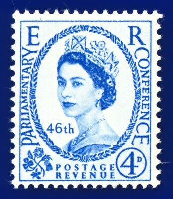 1957 SG560 4d 46th Inter-Parliamentary Union Conference MNH ajow