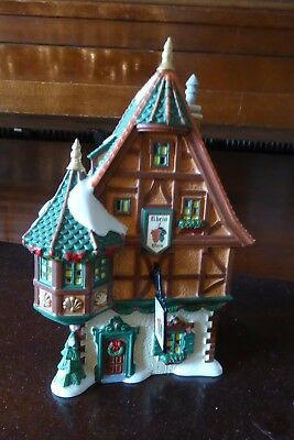 "Department 56 Alpine Village ""RHINELAND WINE TAVERN"" - Excellent Conditon"