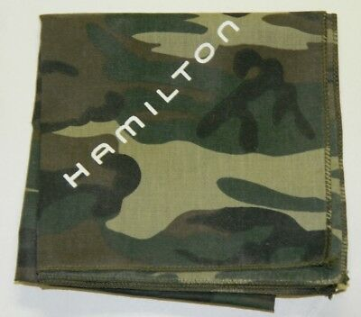 Hamilton KHAKI HANDKERCHIEF with logo from promotional launch of military watch