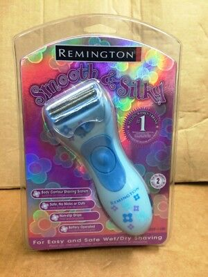 Remington WDF-1100 Smooth & Silky Women Body Contour Shaver (Color May Vary)