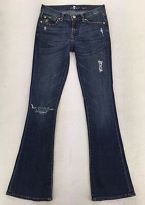 """7 For all Mankind KAYLIE Flare Jeans Girls Youth sz 14 (28.5"""" Inseam) #9643"""