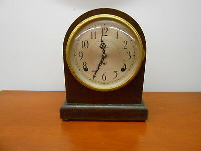 "SETH THOMAS ANTIQUE MANTLE CLOCK  ""NO 1 LEADER"" 89 Movement"