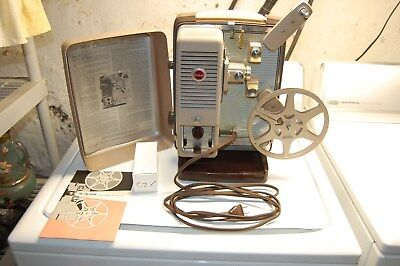 Kodak Showtime 8Mm Silent Movie Projector - Fully Tested - Excellent Cond.