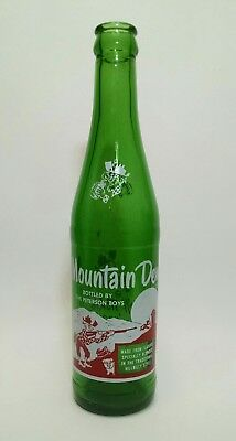Mountain Dew 10oz ACL soda bottle BOTTLED By The Peterson Boys!