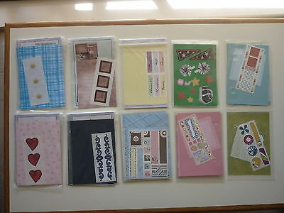 Bundle # 1 Creative Memories PAGE COMPLETION / THANK YOU Kits ** FREE POST**