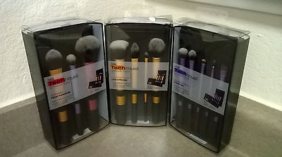 Makeup Brushes Real Techniques Core Collection Eyes Starter Kit Travel Essential