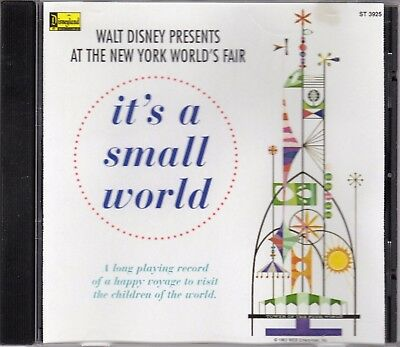 it's a small world New York World's Fair 1964 The Original!