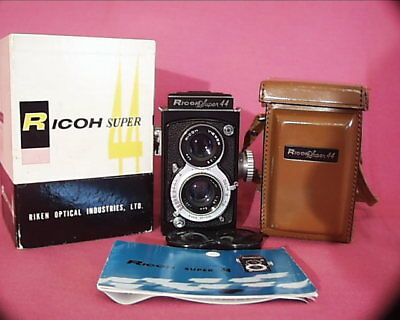 Ricoh Super 44, Case, Cap And Instructions, In Box