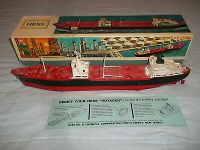 1966 HESS Voyager Ship Boat Truck