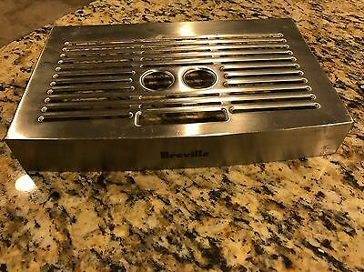 Breville Ikon Espresso Machine BES400XL Stainless Steel Drip Tray Cover ONLY