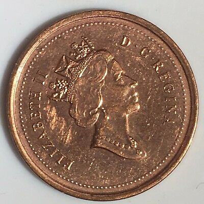 2001 Canadian Penny / 2326
