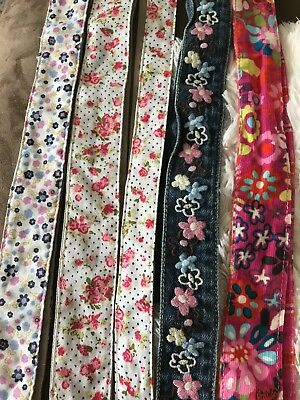 Lot Of Girls Reversible Tie Belts