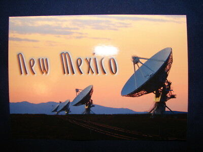 Very Large Array Radio Astronomy Observatory New Mexico Contact UFO Postcard