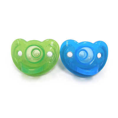 Gumdrop Soother 2 Pack Infant Boy Blue Green